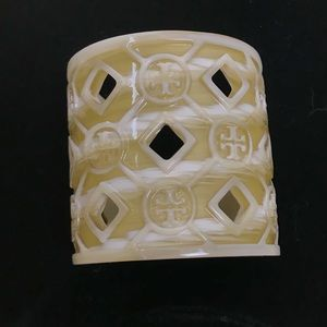 Tory Burch porcelain cuff